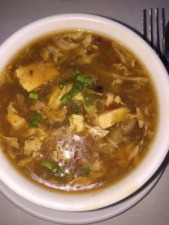 Rocky Point, Estado de Nueva York: Amazing hot and sour soup
