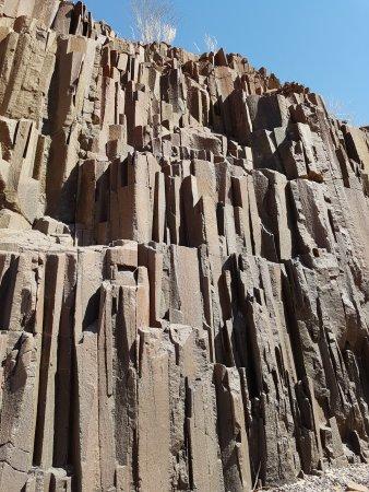 Damaraland, Namibia: Dit is het dan, beetje meer links en rechts. Maar dit is alles.