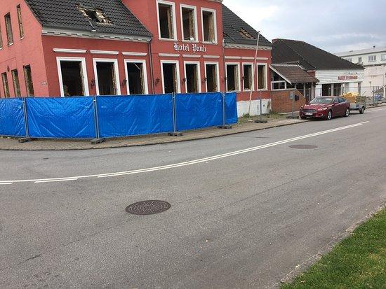 Vojens, Danmark: Hotel Pauli er desværre ved at blive revet ned