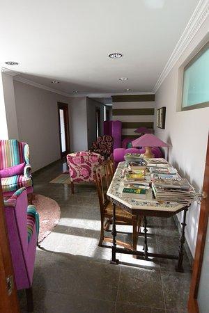 Lounge at Hospederia del Vino.