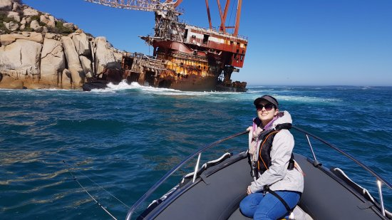 Kapstadt, Südafrika: Boss 400 wreck