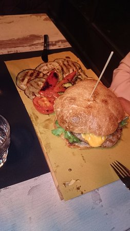 Galliate, Włochy: Hamburger