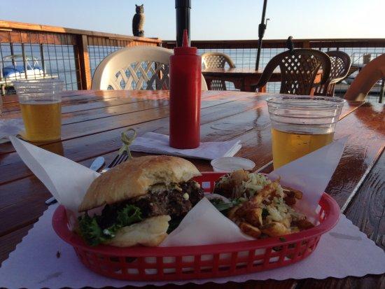 Nice, CA: Toller Blick und leckeres Essen