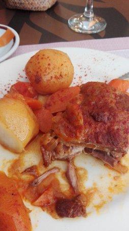 Menu gallego y bueno