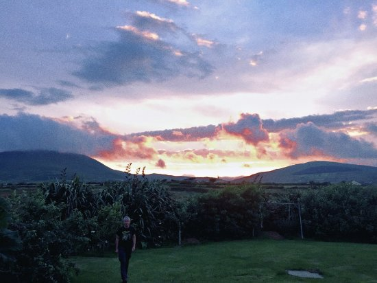 Ballinskelligs, Ireland: spectacular views and sunset