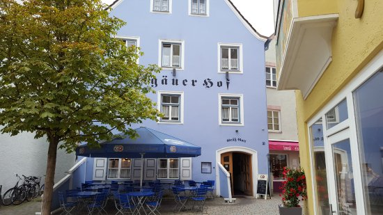 Weilheim, Germany: Der Allgäuer Hof von aussen
