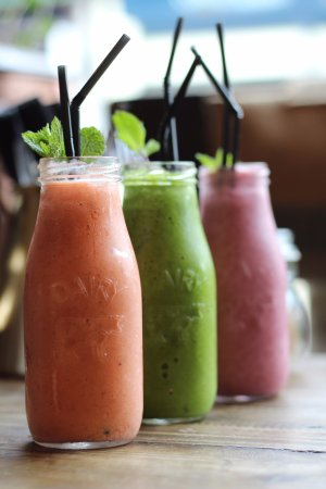 Lampeter, UK: New to our menu this September - Fresh made, healthy smoothies