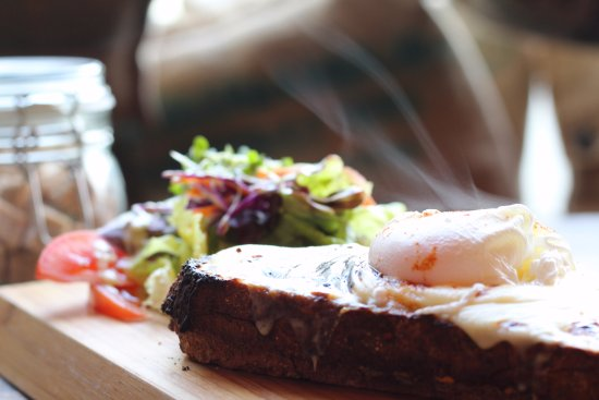 Lampeter, UK: Returning to our menu in September - Croque Monsieur