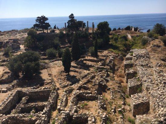 Byblos, Líbano: Vue de la Tour