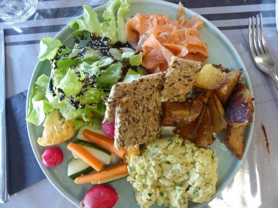 Itxassou, Франция: assiette brunch n° 1