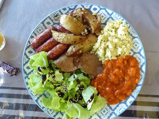 Itxassou, Франция: assiette brunch n° 2