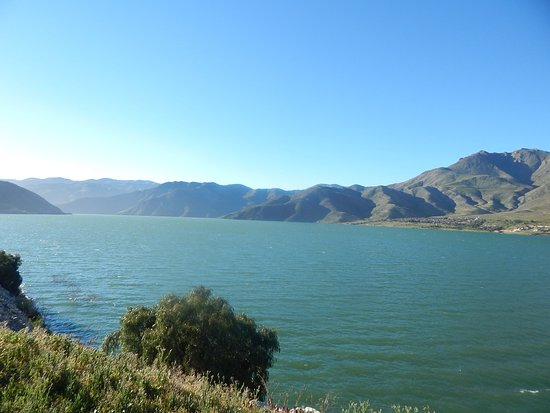 Vicuna, Chile: Embalse Puclaro