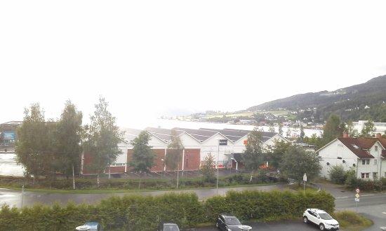 Sandane, Noorwegen: Veduta dalla camera