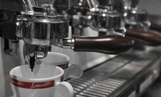 Moravska Trebova, Czech Republic: Our coffe machine, elektra brend :)