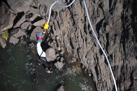 Shearwater Victoria Falls - Bungee, Bridge Tours and Activities: When you overcome the fear of height