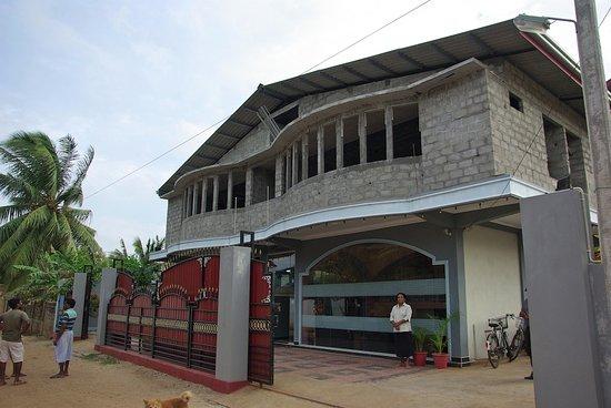 Hotel Agape: la façade