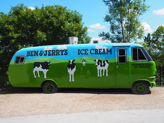 Waterbury, VT: Ice-Cream Truck
