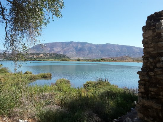 Butrint, Albania: View from the outer wall