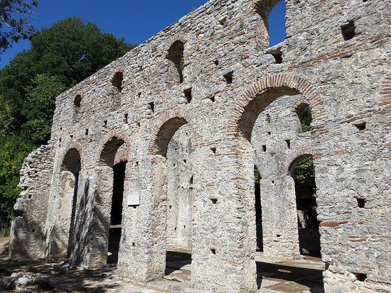 Butrint, Albania: The Great Basilica
