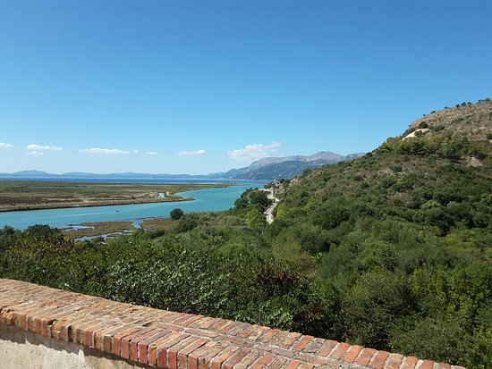 Butrint, Albania: View from the museum