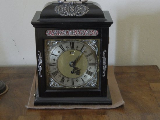 Newquay, UK: Bedside Repeater Clock.