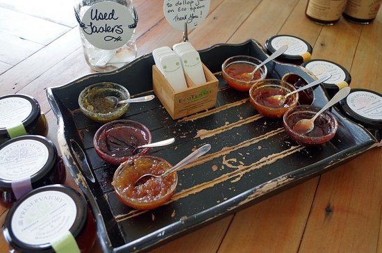 Langley, Canadá: Products tasting