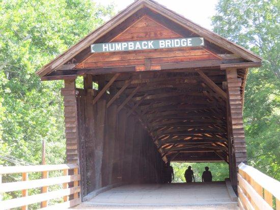 Covington, VA: Entrance to the bridge