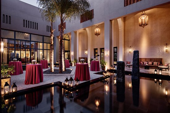 Four Seasons Resort Marrakech: Conference center riad