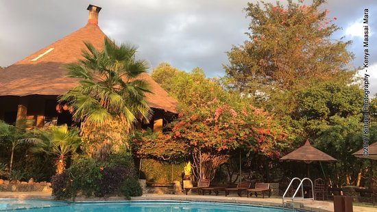 Mara Sopa Lodge: pool view