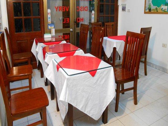 Discovery Hotel: Breakfast area