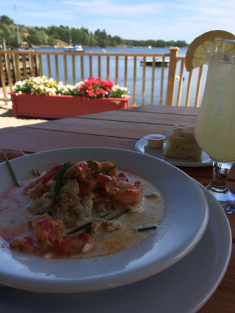 Chester Basin, Canada: the Seafood and Lobster chowder