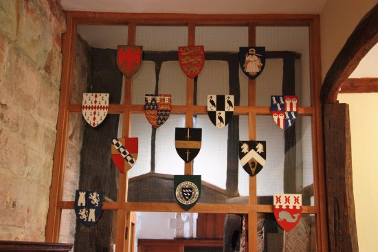 Arlington, UK: Heraldry of past owners