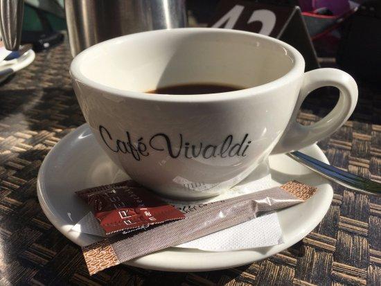 Slagelse, Danmark: En god kaffe