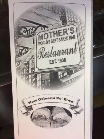 Mother's Restaurant: photo0.jpg