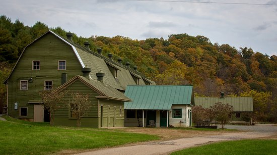Sperryville, Вирджиния: The Event Barn - former dairy barn
