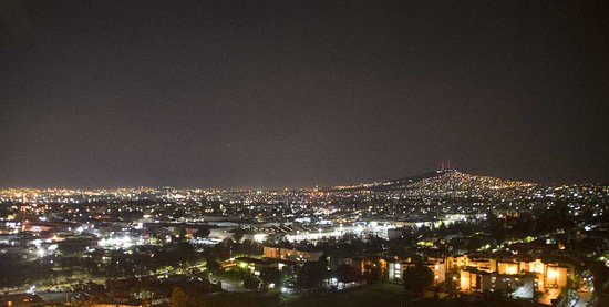 The Westin Guadalajara: A night view from my room (1402)
