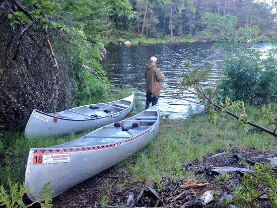 Crane Lake, MN: Enjoying every moment of relaxation