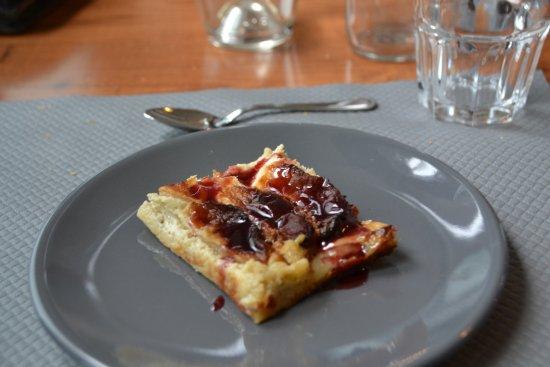 Chabanais, Γαλλία: Mon dessert : une Tarte aux pommes