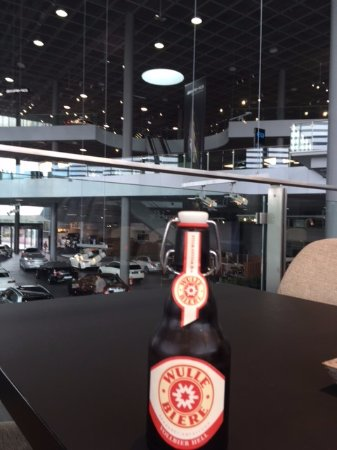 Mercedes Benz Museum: The Modern Merc Dealership And A Beer!