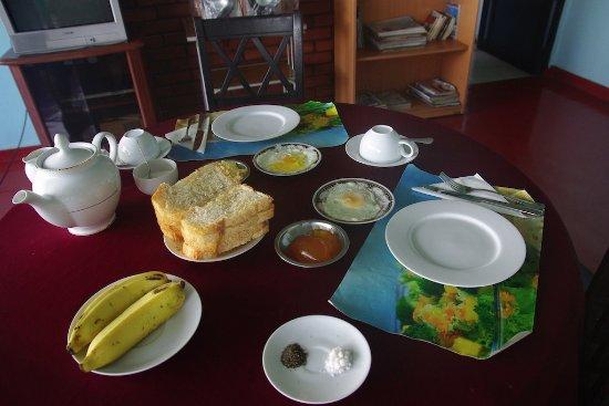 Ratnapura, Sri Lanka: petit déjeuner