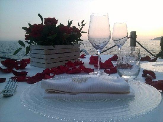 Torre Normanna Restaurant: Tavolo Ulisse