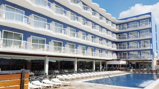 Hotel Cesar Augustus: Vista piscina