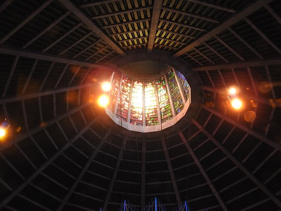 Metropolitan Cathedral of Christ the King Liverpool: Tower View From Inside