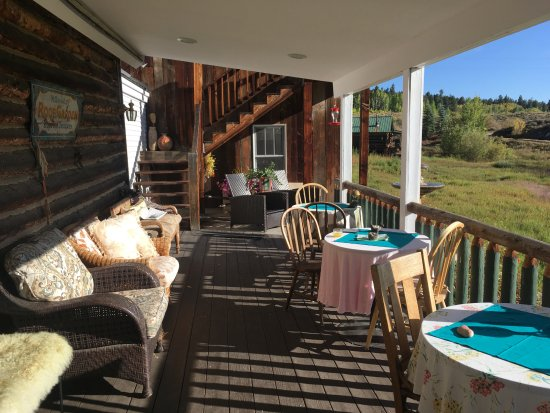 Twin Lakes, CO: The porch