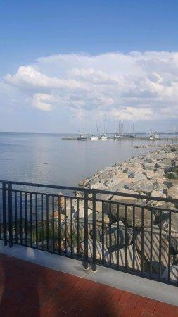 Yorktown, Βιρτζίνια: View from Riverwalk Landing