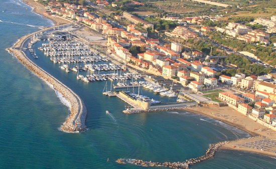 San Vincenzo, Ιταλία: Vista Panoramica