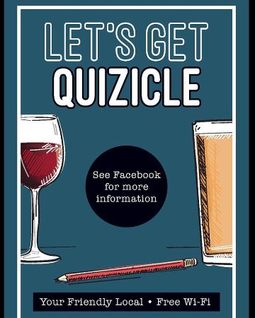 Westbury, UK: There will be a quiz night once a month (all details will be on our Facebook page)