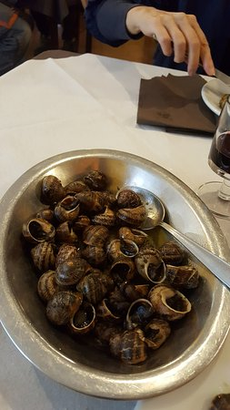 Rezzo, Italia: lumache
