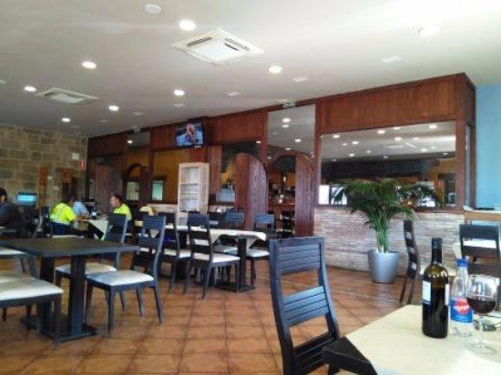 La Muela, Ισπανία: Interior restaurante
