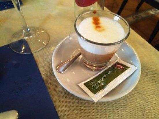 La Muela, Spanien: Café cortado